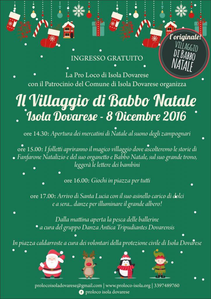Villaggio Babbo Natale 2016